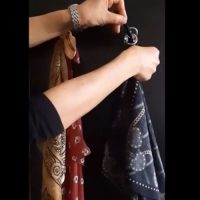 Easy hanging of the scarves on yoritom-Hook